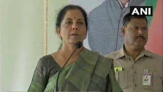 Nirmala Sitharaman Attacks Congress Over Purported Sting Operation Video, Says Party Relies on Fake News