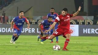 ISL 2018-19: Dramatic Winner Gives NorthEast United FC 2-1 victory Over Table-Toppers Bengaluru FC | Watch Highlights