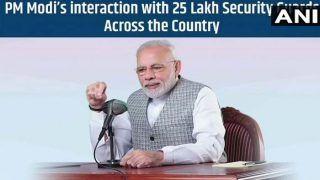 PM मोदी का लाखों सुरक्षा गार्डों से संवाद, बोले- पूरे देश के लोग चौकीदार बनने का संकल्प ले रहे