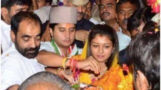 ... तो ज्योतिरादित्य की पत्नी प्रियदर्शिनी भी शुरू करेंगी सियासी पारी, कांग्रेस ने चुनाव लड़ने को कहा!