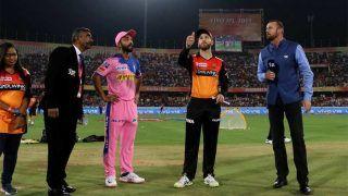 SRHvsRR: राजस्थान ने टॉस जीतकर चुनी बैटिंग, प्लेइंग इलेवन में नहीं हुआ बदलाव