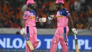 SRHvsRR: राजस्थान ने दिया 199 रन का लक्ष्य, संजू सैमसन ने जड़ा सीजन का पहला शतक