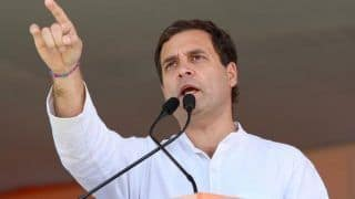 Rahul Gandhi Lashes Out at PM Modi, Says he Protects Rich And Steps on Poor