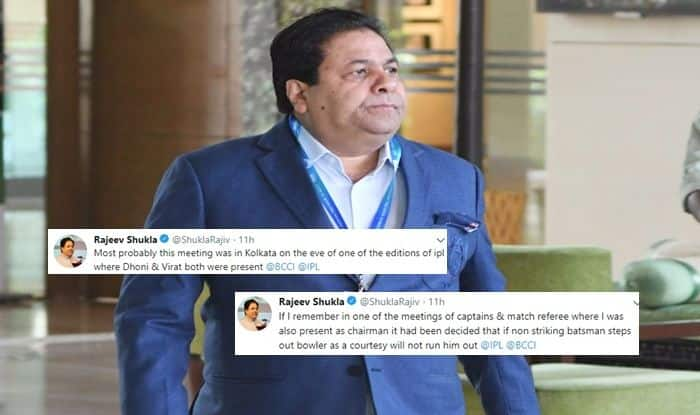 Rajeev Shukla weighs in on 'Makading' incident