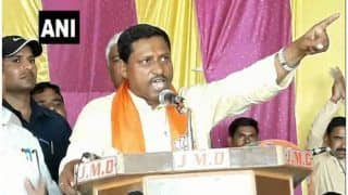 BJP उम्मीदवार रामशंकर कठेरिया बोले, 'केंद्र-राज्य में हमारी सरकार, किसी ने अंगुली दिखाई तो तोड़ देंगे'