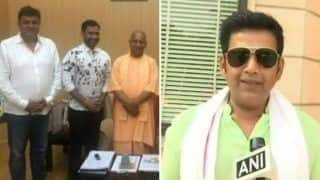 Bhojpuri Superstars Ravi Kishan And Nirahua Join BJP Ahead of Lok Sabha Elections 2019 After Meeting UP CM Yogi Adityanath