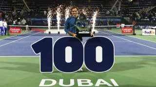 Roger Federer Wins 100th Title After Defeating Stefanos Tsitsipas in Dubai Championships Final
