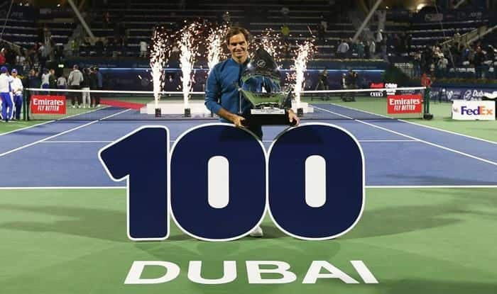 Roger Federer Wins 100th title_picture Credits Ferder's official Twitter handle