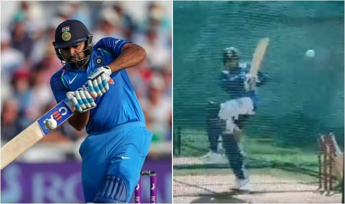 2nd ODI: Rohit Sharma Shows Glimpses of Great Form With Brilliant Timing in Nets, Australia Wary of India's Vice-Captain? WATCH VIDEO