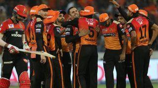 IPL 2019: हैदराबाद ने बैंगलोर को 118 रन से हराया, नबी ने झटके 4 विकेट