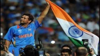 Sachin Tendulkar Touched by Team India's Tribute For Pulwama Martyrs