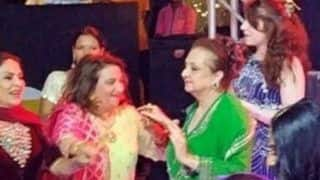 Saira Banu Spotted Dancing at Grandniece Sayyeshaa Saigal's Sangeet Ceremony, Picture Takes Internet by Storm