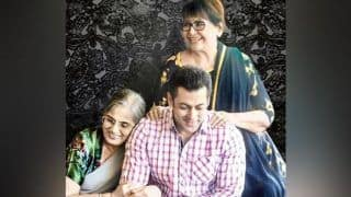 Salman Khan Wishes His Favourite Ladies - Salma Khan And Helen - on International Women's Day
