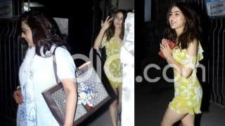 Sara Ali Khan And Mother Amrita Singh Spotted Post Self Pampering at The Salon, See Pictures