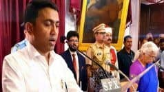 Goa Government to Face Floor Test Today; CM Pramod Sawant Confident of Victory