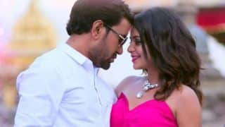 Bhojpuri Superstar Dinesh Lal Yadav And Hottie Neeta Dhungana's Sexy Chemistry in The Song 'Prem Piyala' From Sher-e-Hindustan Goes Viral, Clocks Over 9 Lakh Views