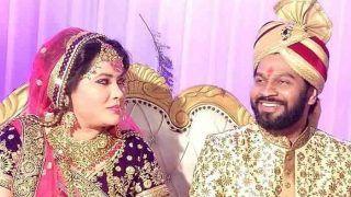 Photos: भोजपुरी डांसिंग क्वीन सीमा सिंह और सौरभ की शादी में पहुंचीं आम्रपाली दुबे, दिखे प्रवेशलाल यादव