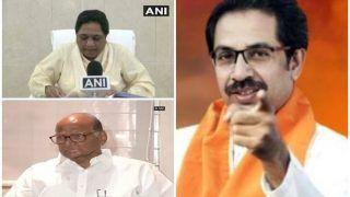 NCP-BSP चीफ शरद पवार व मायावती का चुनाव ना लड़ना NDA की जीत का संकेत: शिवसेना