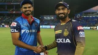 Highlights IPL 2019 Match 10: Rabada Delivers as Delhi Capitals Edge Kolkata Knight Riders by 3 Runs in Super Over at Kotla