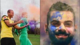 From Virat Kohli, Sachin Tendulkar to Manchester United And Arsenal FC, Here's How Sports Fraternity Wished & Celebrated Holi| Pics And Videos