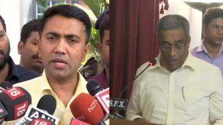 गोवा: मुख्यमंत्री प्रमोद सावंत ने उपमुख्यमंत्री सुदीन धवलीकर को हटाया