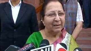 Missing From BJP Posters in Indore, Sumitra Mahajan Says 'Haven't Become Past Yet'