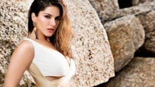 Sunny Leone Looks Smoking Hot in Golden Monokini And Sexy Wet Hair in Latest Dabboo Ratnani's Photoshoot