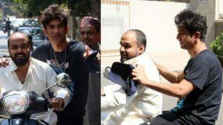 Sushant Singh Rajput Takes Lift From a Stranger in Mumbai, Netizens Troll Him For Not Wearing a Helmet