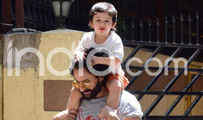 Taimur with his parents Saif Ali Khan and Kareena Kapoor