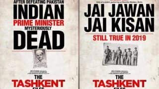 The Tashkent Files Posters Out: Naseeruddin Shah And Mithun Chakraborty Movie on Lal Bahadur Shastri to Release on April 12