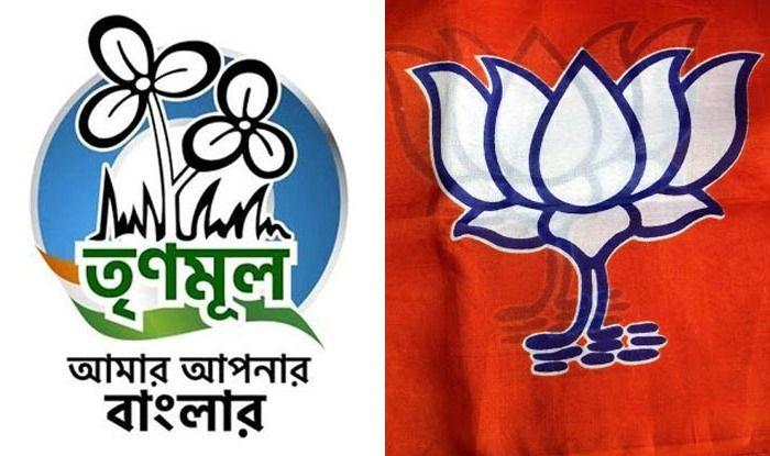 Trinamool Congress and BJP logo