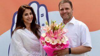 राहुल गांधी से मिलने के बाद उर्मिला मातोंडकर ने जॉइन की कांग्रेस, कहा- गांधी-नेहरू से प्रभावित हूं