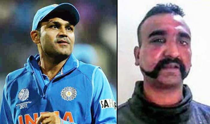 Virender Sehwag Lauds Wing Commander Abhinandan Varthaman, Pens an Emotional Message For Indian Air Force Pilot   SEE POST