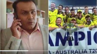 Babysitter Virender Sehwag Returns, Makes Heartfelt Request to Virat Kohli-Led Team India Before Upcoming ODI Series Against Australia | WATCH VIDEO