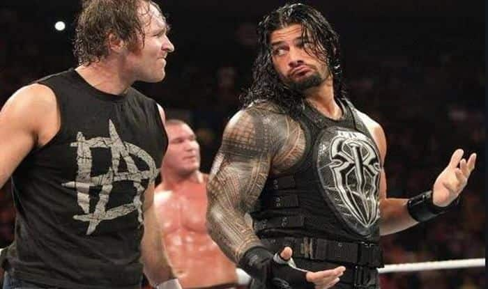 WWE Roman Reigns and Dean Ambrose_picture credits-twitter