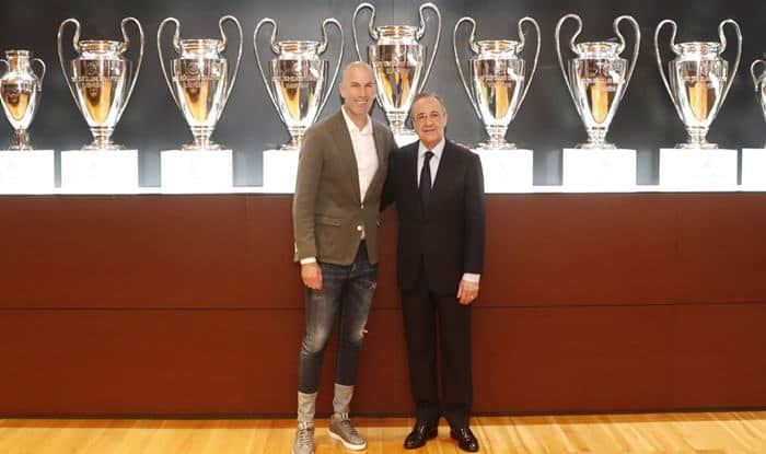 Zinedine Zidane Reappointed as Head Coach of Real Madrid, Set to Replace Santiago Solari