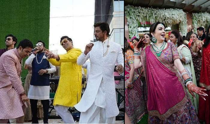 Akash Ambani-Shloka Mehta Wedding: Shah Rukh Khan, Karan Johar And Ranbir Kapoor Dancing Together at Baraat is Rare And Beautiful