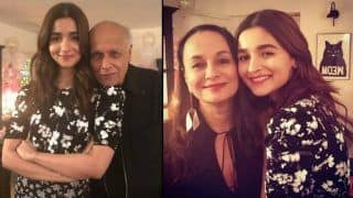 Mahesh Bhatt Wishes 'Sunshine' Daughter Alia Bhatt With This Lovely Picture From Her Birthday Party