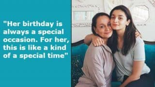 Alia Bhatt's Mother Soni Razdan Wishes Her Daughter on 26th Birthday, Says She 'is Talented And Fortunate'