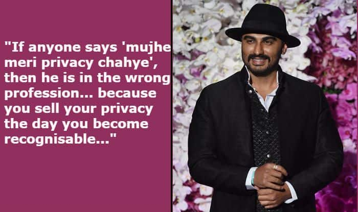 Arjun Kapoor Talks About Rumours of Wedding With Malaika Arora, And How Privacy is The 'Price' of Stardom
