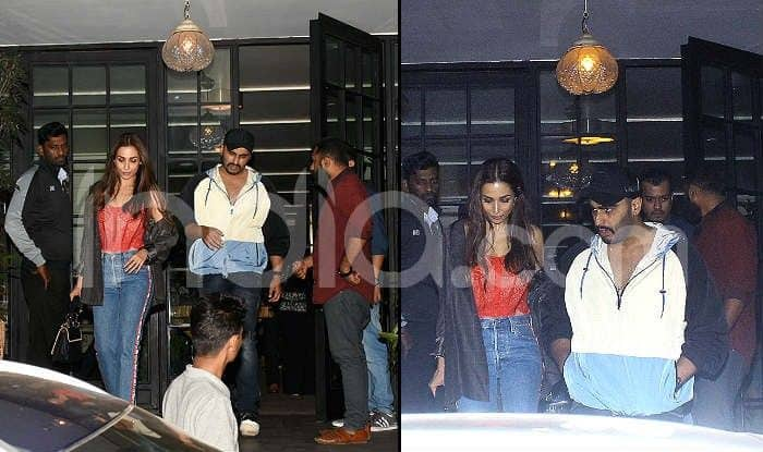 Arjun Kapoor-Malaika Arora Look Like a Perfect Couple as They Attend Huma Qureshi's Party-See Pics