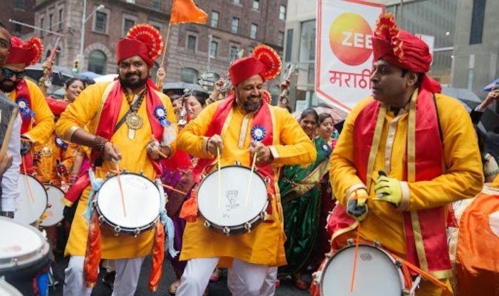"""Zee Marathi USA Brand Ambassador """"Jallosh"""" Dhol Tasha Raise 0,000 For Various Indian NGOs"""