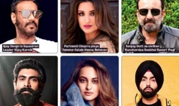 Bhuj: The Pride of India: Parineeti Chopra Reveals The 'Super Six' of Upcoming Movie Alongside Ajay Devgn, Sonakshi Sinha to be The Leading Lady