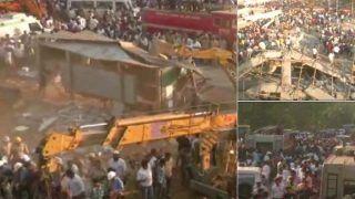 कर्नाटक के धारवाड़ में निर्माणाधीन बहुमंजिला बिल्डिंग धराशायी, 2 मरे, 50 लोग फंसे