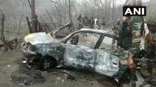 Jammu And Kashmir: Blast in Car in Banihal; CRPF Convoy Was at Significant Distance From Site, Say Reports