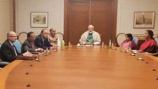 PM Narendra Modi Chairs National Security Council Meeting; CCS Minister, NSA Ajit Doval And Foreign Secretary Vijay Gokhale Among Others Present