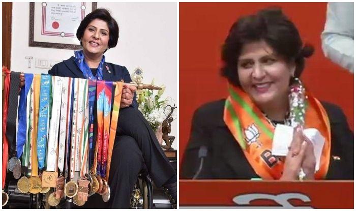 Lok Sabha Elections 2019: Paralympian Deepa Malik Joins BJP, Says PM Modi's Work Motivated Her