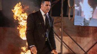VIRAL VIDEO: स्टंट के दौरान अक्षय कुमार की बॉडी पर ऐसे लगाई गई आग