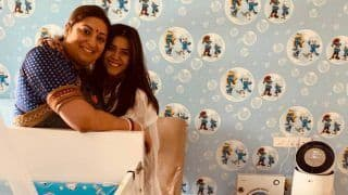 Ekta Kapoor Posts a Lovely Birthday Wish For 'Massi' Smriti Irani on Behalf of Little Ravie Kapoor - See Picture