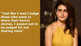 Fatima Sana Shaikh Reveals She Was Sexually Harassed, Refuses to Give Details of Her #MeToo Story